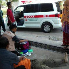 Penanganan korban KLL dengan fraktur clavicula